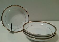 VINTAGE DELTA AIR LINES INTERNATIONAL FIRST CLASS CHINA FRUIT BOWLS  4 pc