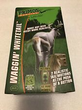 Primos Hunting Waggin' Whitetail Electronic Deer Tail Decoy W/ Remote New