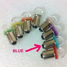 Pinball Twin LED #44 47 6.3volt Super Bright BLUE      FREE POST in  AUST