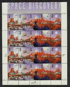 Scott #3238/42....32 Cent...Space Discovery...Pane of 20