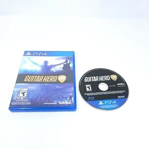 Guitar Hero Live Sony Playstation 4 PS4 Game Only GH Live Tested Activision