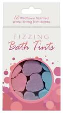 Fizzing Bath Tints 12 Wildflower Scented Bathing Bombs Celebrate Love Relax Gift