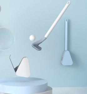 Silikon Golf Toilettenbürste mit Toilettenbürste Halter Wandmontage Pinsel