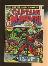 Captain Marvel 25 VG 4.0 *1 Book* Taste of Madness! Friedrich & Starlin!