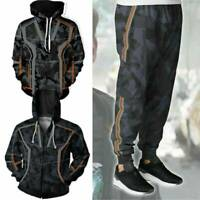 IRON MAN Tony Stark Hooded Avengers Infinity War Hoodie Coat Jacket Trouser New