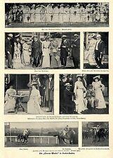 """Die""""Grosse Woche"""" in Baden-Baden Rennplatz - Finish - Tribüne Bilddokumente 1902"""