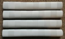 4x CHEVRON Cricket Bat Grips - WHITE