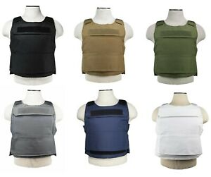 NEW NcSTAR Heavy Duty Discreet Plate Carrier M-4XL Adjustable