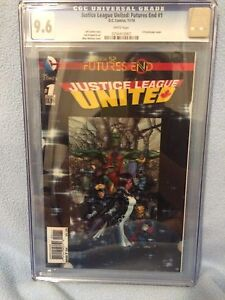 Justice League United: Futures End #1 (Nov 2014, DC) CGC 9.6 NM Lenticular Cover