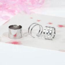 Anelli di bigiotteria in argento metalli misti