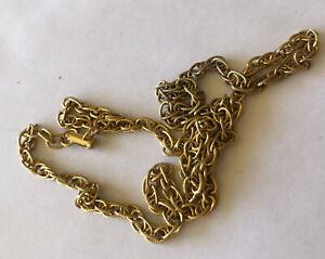 Antique 70s Vintage bronze Necklace Jewellery