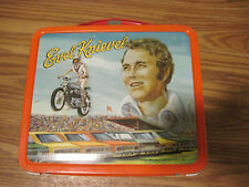 Vintage 1974 Evil Knievel Metal Lunch Box WITH Thermos