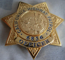 U.S.A  Metal badge of the California state highway emblem