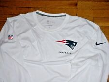 NFL New England Patriots Football Player Issued Long Sleeve Workout Shirt 4XL