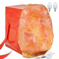 Levoit  ElanaSalt Lamp, Himalayan / Hymilain Sea Salt Lamps, Pink Crystal Large