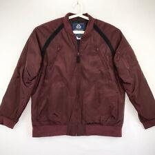 American Rag Mens Size XXL Montrose Bomber Jacket Scarlet Red