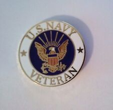 U.S. Navy Veteran Hat Pin 7/8'