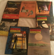1952 The Magazine of Fantasy and Science Fiction Volume 3 #1-4;6-8 (7 Issues)