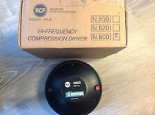 RCF 2 inch compression driver Pure Titanium Driver, NEW