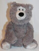 """Gund Bear Rafferty Gray 14"""" Bear Plush Stuffed Animal cuddly Toy Classic Teddy"""