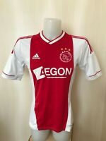 Ajax Amsterdam 2012/2013 home Size S Adidas football shirt jersey maillot soccer