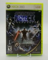 Star Wars: The Force Unleashed (Microsoft Xbox 360, 2008) Complete in Box CIB