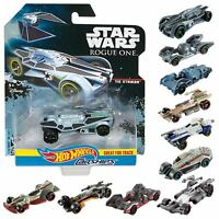 Hot Wheels Star Wars Carships Diecast Spaceship Rogue One Collector Model Toy