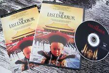 The Last Emperor Dvd with Original Insert Bernardo Bertolucci