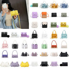 Women Belt Buckle Shoulder Bags Handbag Ladies Casual Crossbody Messenger Bag