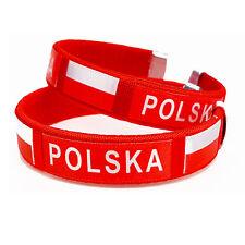 Armband Polen Polska Fan Fahne Flagge Fussball  2 Stück
