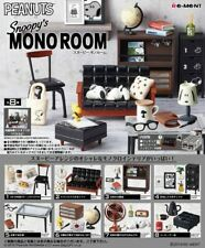 Re-Ment Miniature Peanuts Snoopy Mono Room Furniture Full set of 8 pieces
