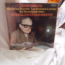 Decca D188 D7 Shostakovich / Fitzwilliam String Qt 7 x LP Box SEALED