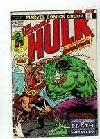 Incredible Hulk #177, GD+ 2.5, Death of Adam Warlock; Marvel Value Stamp