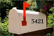 """2.5"""" Mailbox Numbers Custom SET OF 2 Numbers Mailbox Stickers Decals"""