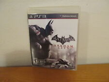 Batman: Arkham City PS3 (Sony PlayStation 3, 2011) with booklet