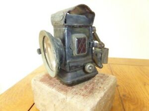 ***Antique Vintage Jos LUCAS & Son's KING OF THE ROAD Safety Bicycle Oil Lamp***