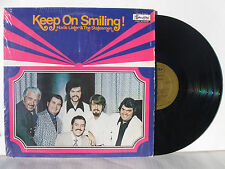1972 Statesmen Quartet with Hovie Lister Keep On Smiling! vinyl Lp Mint!