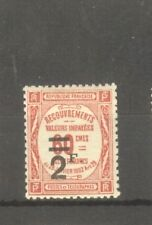 """FRANCE STAMP TIMBRE TAXE N° 54 """" 2F SUR 60c ROUGE """" NEUF xx TTB"""