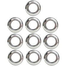 """TEN 10 - 3/4"""" Chrome Bezel Ring Cover Trim Hot Spot Bullet LED Lights Maxxima"""
