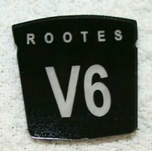 """Sunbeam Alpine """"ROOTES V6"""" Badges Set of 3 NEW Reproduction"""