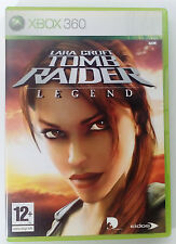 TOMB RAIDER LEGEND XBOX 360 EUROPEAN PAL USED GOOD CONDITION (We combine)