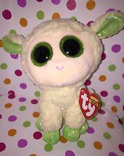 "6"" Ty Beanie Boo Reg Size LaLa the Lamb Sheep"