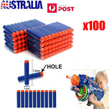 100x Toy Refill Gun Darts Blasters for Elite Nerf N-strike Round Head Bullets AU