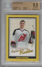 Bgs 9.5 Zach Parise 2005/06 Ud BeeHive Bee Hive Rookie Card Wild!