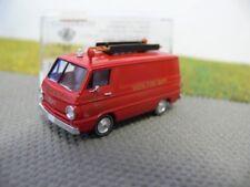1/87 Brekina Dodge A 100 Van Fire Rescue New York Vista Fire D. + Dachlei. 34360