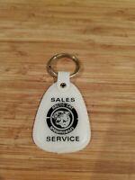 Vtg 1970s Artic Cat DEALER Advertising Keychain RARE NOS