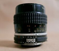 Nikon Nikkor 55MM f2.8 Manual Focus AIS Lens