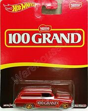 "Hot Wheels 1:64 Pop Culture NESTLE CASE A 1964 CHEVY NOVA DELIVERY ""100 GRAND"""