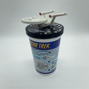 CUP 1 1993 Star Trek Pizza Hut USS ENTERPRISE