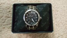 Men's Bulova Marine Star Diamond Black Ion Plated Watch 98E003